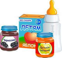 картинка детского питания гербер